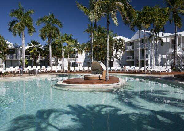 Best Family Friendly Accommodation at Oaks Resort Port Douglas Pool and Cabana